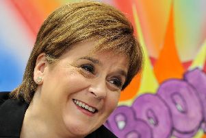 Nicola Sturgeon. Picture: AFP/Getty Images