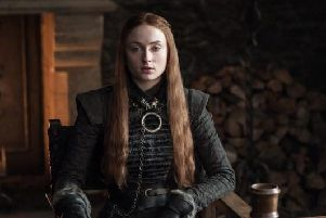 Sophie Turner, who plays Game of Thrones' Sansa Stark, said they filmed fake scenes to avoid any Season 8 plot leaks (Photo: HBO)