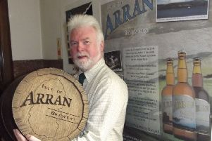 MD Gerald Michaluk said Arran Brewery is looking to emulate the model used by Drygate. Picture: Contributed