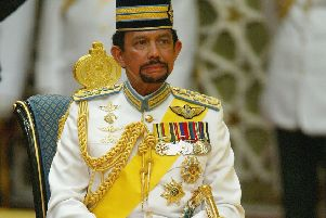 Bruneian Sultan Hassanal Bolkiah. Picture: Christopher Furlong/Getty Images