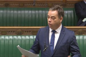Conservative MP Nigel Adams has resigned as a minister