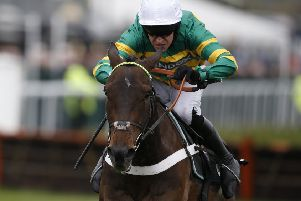 Buveur D'Air contests the feature race on day one of Aintree's Grand National meeting. Picture: Alan Crowhurst/Getty