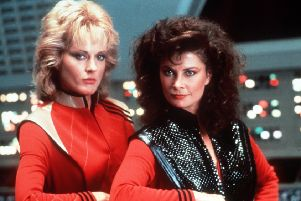 Is Theresa May a lizard like Pamela and Diana (played by Sarah Douglas and Jane Balder) from V: The Final Battle?