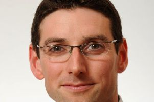 Sebastian Burnside, chief economist at RBS. Picture: Ian Jacobs