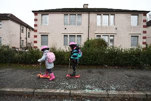 Around four per cent of dwellings in Scotland lie empty. Picture: John Devlin