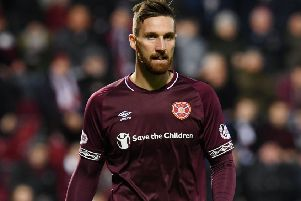David Vanecek has not impressed at Hearts so far. Picture: SNS.