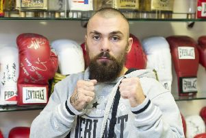 Iron Mike Towell prepares ahead of his fight with Dale Evans