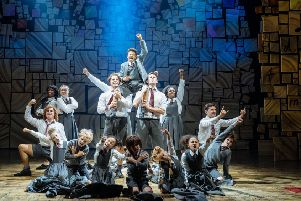 The kids in the audience can't get enough of the rebellious schoolchildren led by the irresistible Scarlett Cecil as Matilda in a brilliant RSC production.''Picture: Manuel Harlan