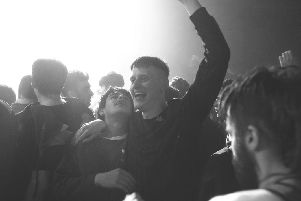 Cristian Ortega and Lorn Macdonald play two best pals from a Scottish housing estate in the rave culture movie Beats.