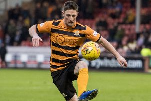 Alloa's Jordan Kirkpatrick scored the late winner. Pic: SNS/Alan Harvey