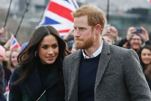 The Duke and Duchess of Sussex set up a joint Instagram account shortly before Prince Harry warned of the dangers of social media (Picture: Andrew Milligan/AFP/Getty)