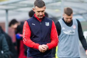 Board backing: Dundee boss Jim McIntyre. Picture: SNS Group