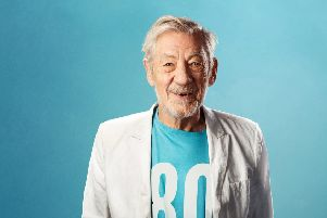 Sir Ian McKellen is bringing his anniversary one-man show to the EIF this summer. Picture: contributed