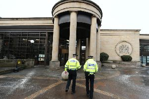 The hearing took place at the High Court in Glasgow. Picture: John Devlin