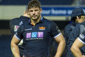 Ross Ford is leaving 'Edinburgh at the end of the season. Picture: SNS