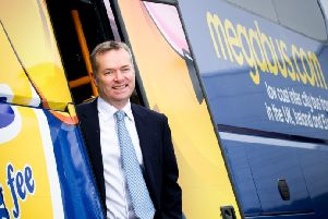 Stagecoach chief executive Martin Griffiths. Picture: Fraser Band/Stagecoach