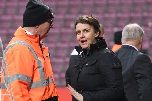 Hibernian chief executive Leeann Dempster. Picture: SNS