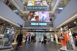 A peek inside part of the vast new store. Picture: Stuart C Wilson/Getty Images