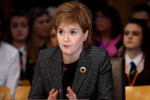 "Nicola Sturgeon has warned Theresa May not to waste EU's Brexit ""gift"""