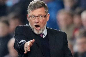 Hearts manager Craig Levein. Picture: Jane Barlow/PA Wire
