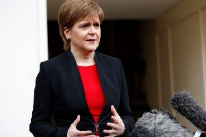 21 per cent of Scottish small businesses named Nicola Sturgeon as their top pick for next Prime Minister. Picture: TOLGA AKMEN/AFP/Getty Images
