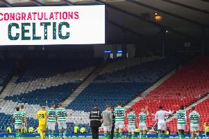 Celtic have reached the Scottish Cup final. Picture: SNS
