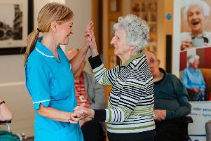 A combination of sight loss and dementia can be hard to live with