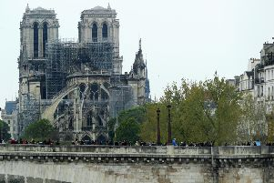 Notre-Dame is to be rebuilt 'even more beautifully' (Picture: Dan Kitwood/Getty)