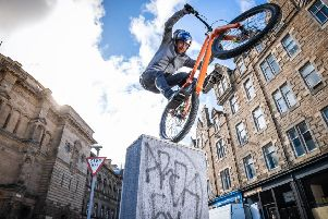 MacAskill was back in Edinburgh visiting all his old favourite haunts. Picture: Contributed