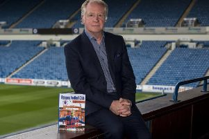 Northern Irishman  Jimmy Nicholl helps launch 'The Ulster Connection' book at Ibrox. Picture: Alan Harvey/SNS
