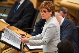 Nicola Sturgeon said: 'As an ardent, passionate feminist, ...I don't see the greater recognition of transgender rights as a threat to me as a woman or to my feminism' (Picture: Jeff J Mitchell/Getty Images)