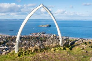 The view from the top of the North Berwick Law (Photo: Shutterstock)