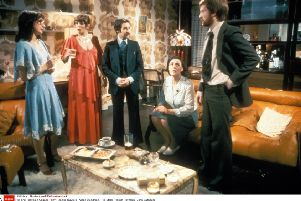 Mike Leigh's play Abigail's Party didn't actually involve dinner, but contained all the essential elements of the excruciating chat and attempts to impress (Picture: Moviestore/REX/Shutterstock)