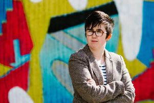 Lyra McKee, who was shot dead beside a police vehicle as she watched rioting on the Creggan estate . Picture: Jess Lowe Photography/Getty