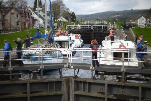Part of the Caledonian Canal