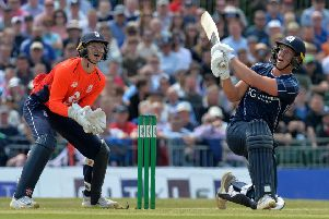 George Munsey hit 78 in Scotland A victory before switching sides and making it an Easter Sunday to remember. Picture: Getty.