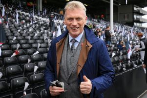 David Moyes is among the candidates to become the next Scotland manager. Picture: Getty.