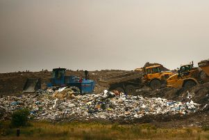A ban on landfill waste in Scotland by 2021 looks unlikely to be met. Picture: Jeff J Mitchell/Getty Images