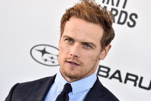 Sam Heughan's name is being used by scammers on a fake Instagram account