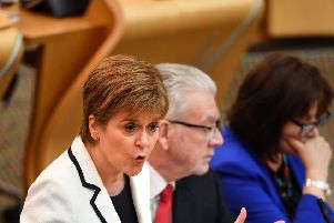 Nicola Sturgeon. (Photo by Jeff J Mitchell/Getty Images)