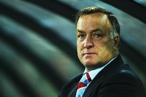 Former Rangers boss Dick Advocaat. Picture: Getty