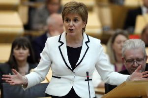 Nicola Sturgeon previously spoke about waiting until the fog of Brexit clears before considering a second independence referendum (Picture: Andrew Cowan/Scottish Parliament)