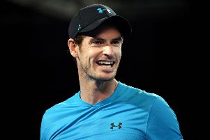 Pain-free: Andy Murray has given an update on his fitness. Picture: Getty Images