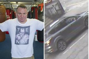 Police are appealing for information about the suspected getwaway vehicle.