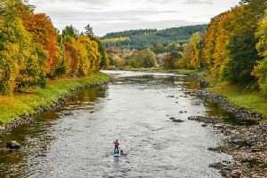 Paddleboarding is an up-and-coming water sport in Scotland. Photo: Shutterstock.