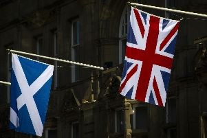 Scots were less likely to describe themselves as patriots, while those living in the south-east of England were most likely. Picture: Andy Buchanan/Getty