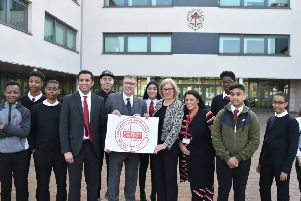 Action for Children Charter Mark launch at Broughton High School