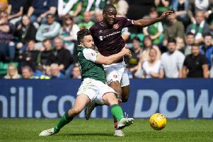 Hearts and Hibs will discover their 2019/20 matches in June. Pic: SNS