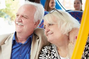 Free bus travel for Scotland's over 60s will cost around �214 million this year. Picture: TSPL