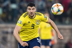 Callum Paterson is currently sidelined after picking up an injury on international duty. Pic: SNS